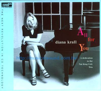DIANA KRALL / ALL FOR YOU XRCD--樂音唱片行