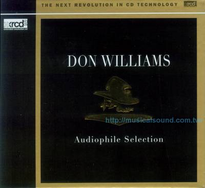 唐.威廉斯 / 發燒精選XRCD2 DON WILLIAMS / Audiophile Selection XRCD2--樂音唱片行